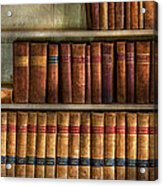 Lawyer - Books - Law Books  Acrylic Print