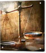 Lawyer - Scale - Balanced Law Acrylic Print