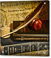Lawyer - The Constitutional Lawyer Acrylic Print