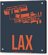 Lax Airport Poster 3 Acrylic Print