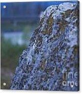 Lay On My Hidden Rock Acrylic Print