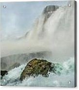 Layered Falls Acrylic Print
