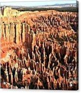 Layered Hoodoos At Bryce Canyon National Park Acrylic Print