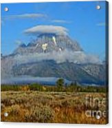 Layering Clouds Acrylic Print