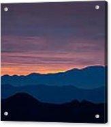 Layers - The Mojave I Acrylic Print