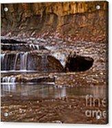 Layers Of Falls Acrylic Print