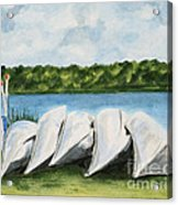 Lazy River Acrylic Print