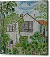 L.b. Clegg House In San Antonio Acrylic Print