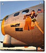 Liberty Belle Sunset Acrylic Print