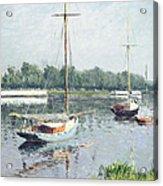 Le Bassin D'argenteuil Acrylic Print
