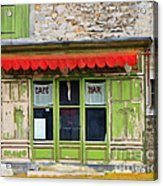 Le Cafe Bar Acrylic Print