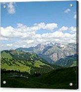 Le Dolomiti Acrylic Print