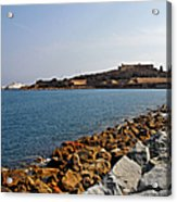 Le Fort Carre - Antibes - France Acrylic Print