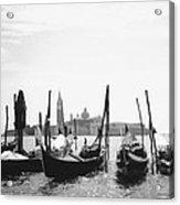 Le Gondole - Venice Acrylic Print