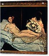 Le Grande Odalisque By Ingre Acrylic Print