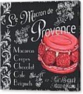 Le Macron De Provence Acrylic Print