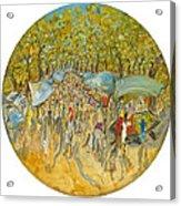 Le Marche De Toulon - Orig. For Sale Acrylic Print