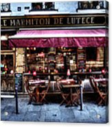 Le Marmiton De Lutece Paris France Acrylic Print