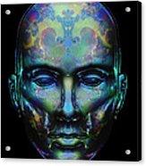 Le Masque De Minuit Acrylic Print