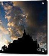 Le Mont Saint Michel Acrylic Print