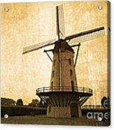 Le Moulin Jaune  Acrylic Print