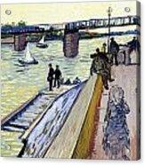 Le Pont De Trinquetaille Acrylic Print