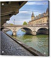 Le Pont Napoleon Paris Acrylic Print