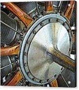 Le Rhone C-9j Engine Acrylic Print