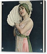 Le Theatre 1912 1910s France Mlle Acrylic Print by The Advertising Archives