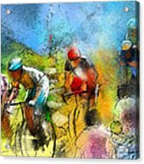 Le Tour De France 01 Acrylic Print