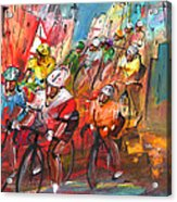 Le Tour De France Madness 04 Acrylic Print