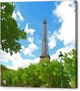 Le Tour Eiffel Acrylic Print