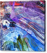 Lead Me To The Rock-psalm 61vs2 Acrylic Print