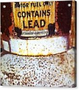 Lead Only Acrylic Print
