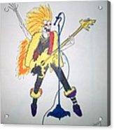 Lead Singer Acrylic Print