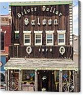 Leadville Saloon Acrylic Print