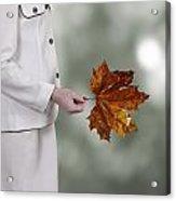 Leaf Acrylic Print by Joana Kruse