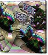 Leaf Mould Acrylic Print