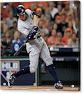 League Championship Series - New York Yankees v Houston Astros - Game Seven Acrylic Print