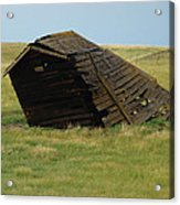Lean To The Wind Acrylic Print