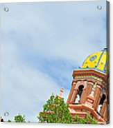 Leaning - Architectural Detail Acrylic Print