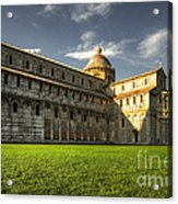 Leaning Tower Of Pisa  Acrylic Print
