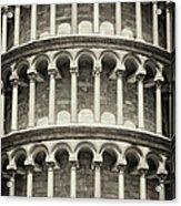 Leaning Tower Of Pisa, Tuscany Italy Acrylic Print
