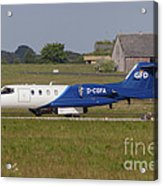 Learjet Used For Simulating Enemy Acrylic Print