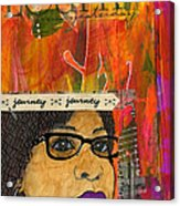 Learning From Yesterday - Journal Art Acrylic Print