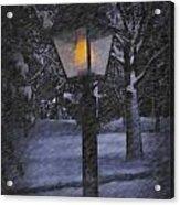 Leave The Light On Acrylic Print