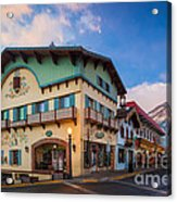 Leavenworth Alps Acrylic Print