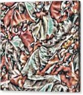 Leaves Abstraction II Acrylic Print