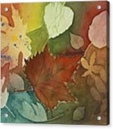 Leaves Vl Acrylic Print