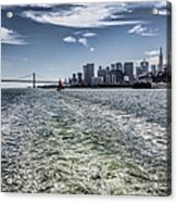 Leaving San Francisco Acrylic Print